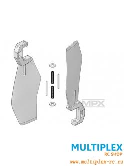 Хвостовые лопасти (пара) для FunCopter