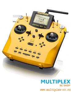 Комплект аппаратуры управления MULTIPLEX Royal SX action 16 каналов 2.4 GHz