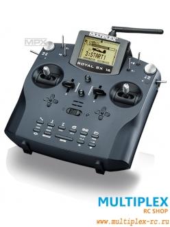 Комплект аппаратуры управления MULTIPLEX Royal SX elegance 9 каналов 2.4 GHz