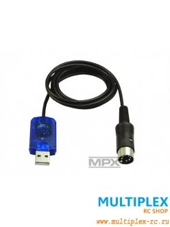 USB адаптер MULTIPLEX для подключения передатчика к компьютеру