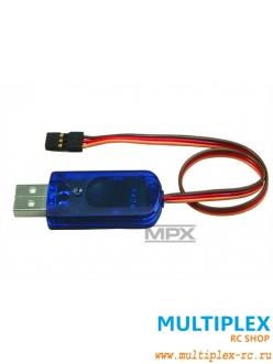 USB адаптер MULTIPLEX для программирования рулевых машинок и приемников