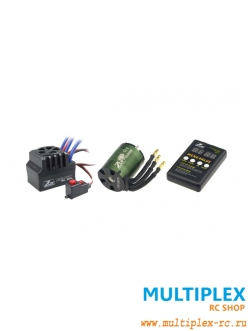 Комплект 1:10 Beast SL 60A Combo + 4P SL 3650B 2Y 4350KV электродвигатель