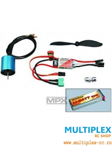 "Силовая установка MULTIPLEX Powerset ""EasyStar BL-TUNING"" Li-BATT powered"