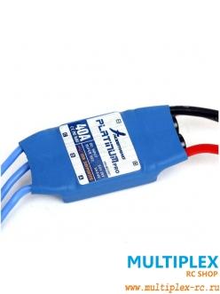 Контроллер электродвигателя  Hobbywing  Platinum Pro 40A