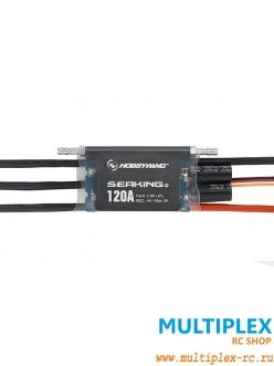 Контроллер электродвигателя  Hobbywing  SEAKING Pro 120A